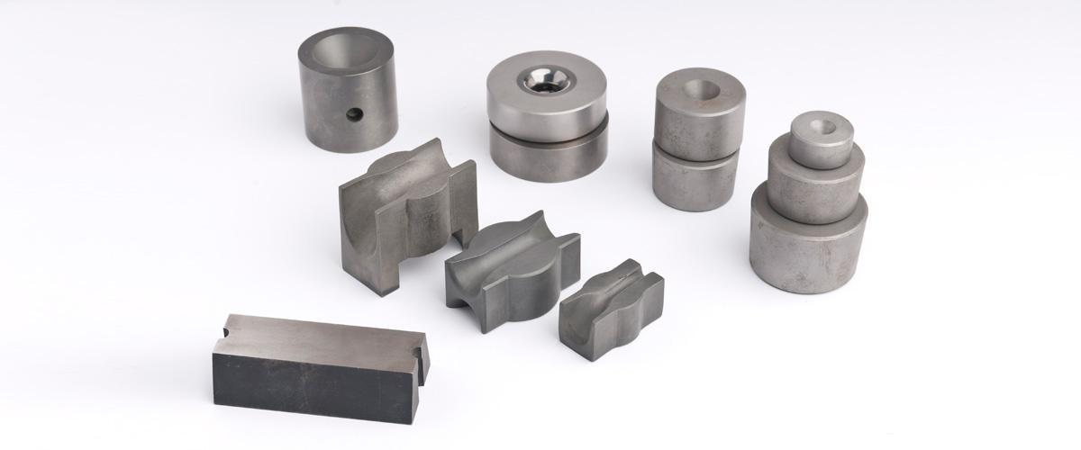 Hartmetall-Ziehsteine, Profil-Ziehsteine, Rund-Ziehsteine, Druck-Ziehsteine, sowie Ziehkerne